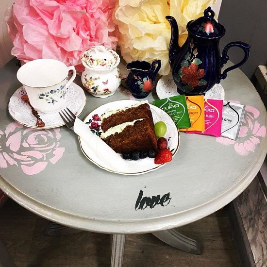 Why not come and treat yourself to some our fabulous cake and a pot of tea?