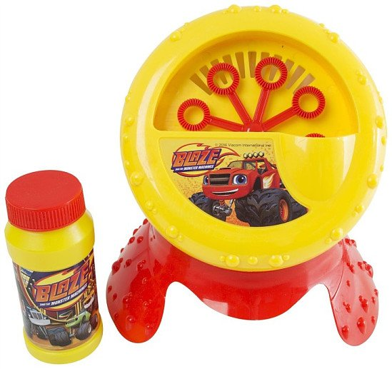 OVER 40% OFF - Blaze and the Monster Machines Bubble Blower Machine!