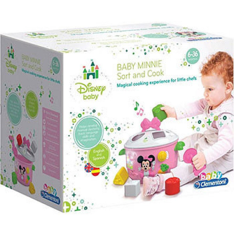 SAVE 40% on Disney Minnie Mouse Baby Sort and Cook!