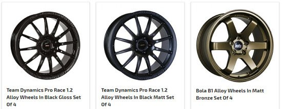 Up to 54% OFF Performance Alloy Wheels - SAVE up to £1000!