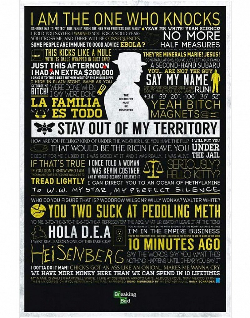 Breaking bad posters ONLY £4.99!