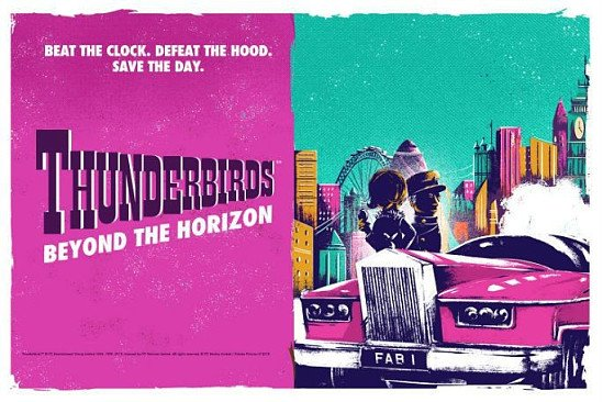 SAVE UP TO 46% OFF Thunderbirds – Beyond the Horizon, Tickets from £29!