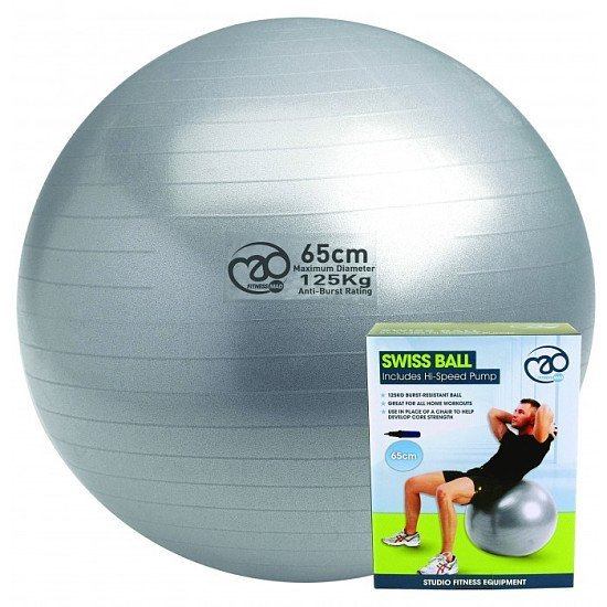 Get this Swiss Ball & Pump for ONLY £14.99!
