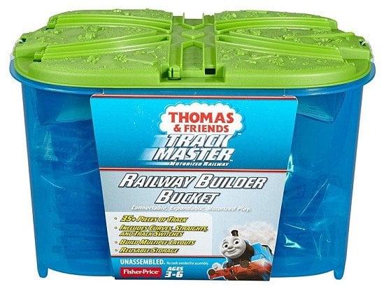 OVER 15% OFF Thomas & Friends Trackmaster Railway Builder Bucket Playset!