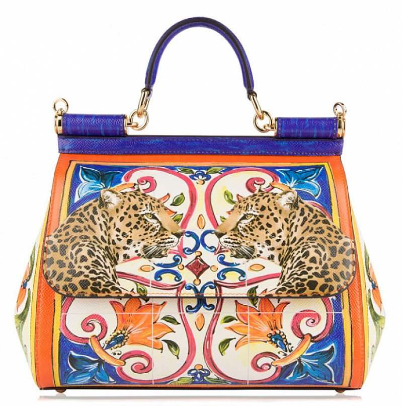 50% OFF DOLCE AND GABBANA Small Sicily Mail Bag - SAVE £950!