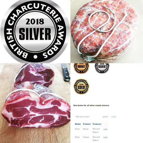 We won silver at the British Charcuterie Awards 2018