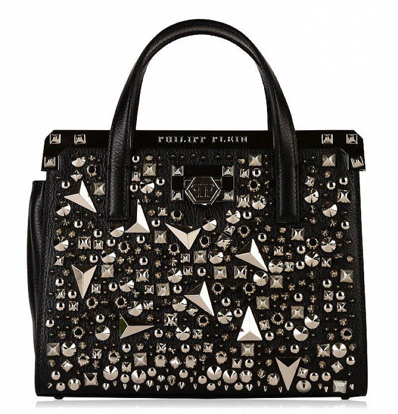 SAVE £1500 on this PHILIPP PLEIN Ariel Handle Bag!