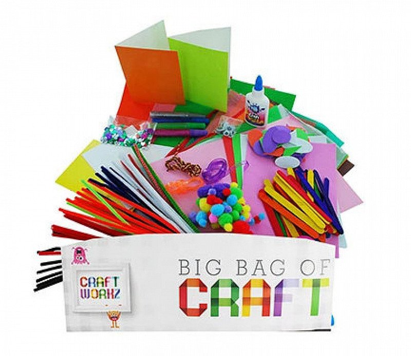 Kids Big Bag Of Craft - ONLY £6!