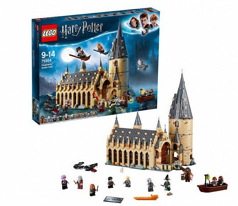 Lego Hogwarts™ Great Hall available for ONLY £89.99!