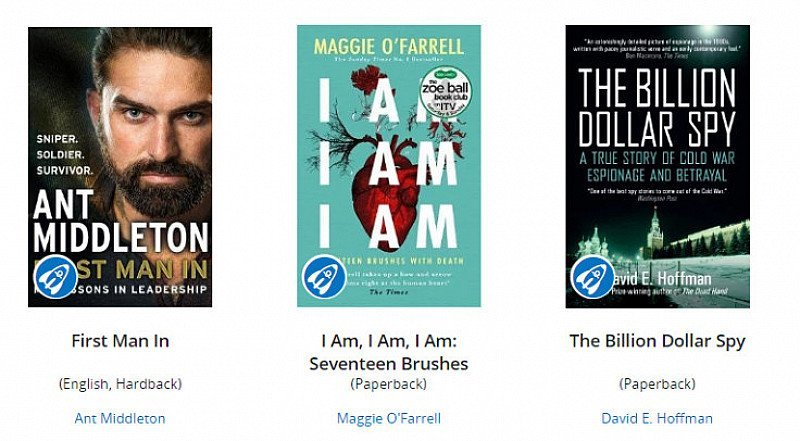 SAVE £££ on the latest Biographies at Wordery!