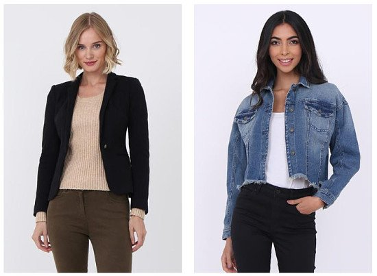 Jackets from £7 - Up to 85% OFF!