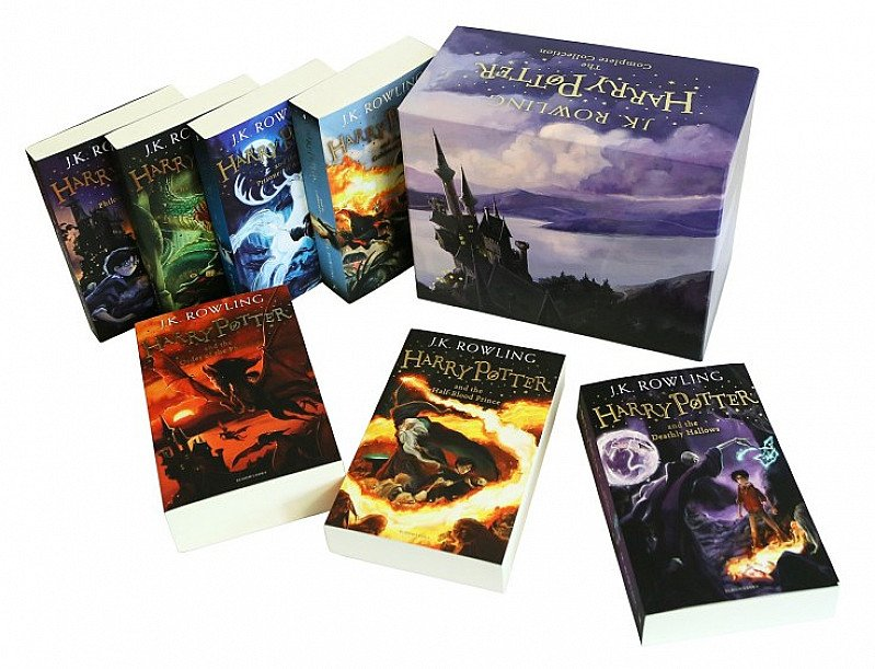 SAVE £20 - Harry Potter Box Set - The Complete Collection!