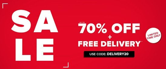 SALE NOW ON! Save up to 70%!