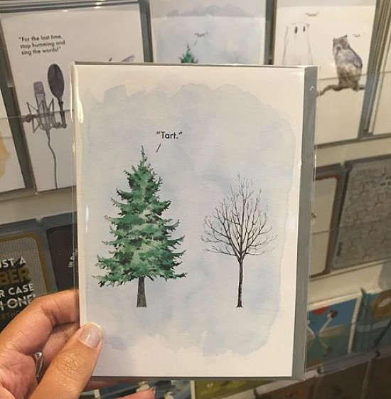 Only 15 Fridays until Christmas - Cards in store from today!