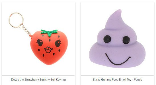 Squishy Toys for you to squeeze and squash all day long from ONLY £4.50!
