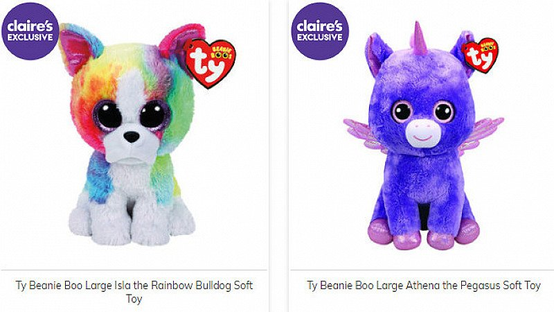 TY Beenie Babies - Buy One Get One 50% OFF - SAVE up to £15!