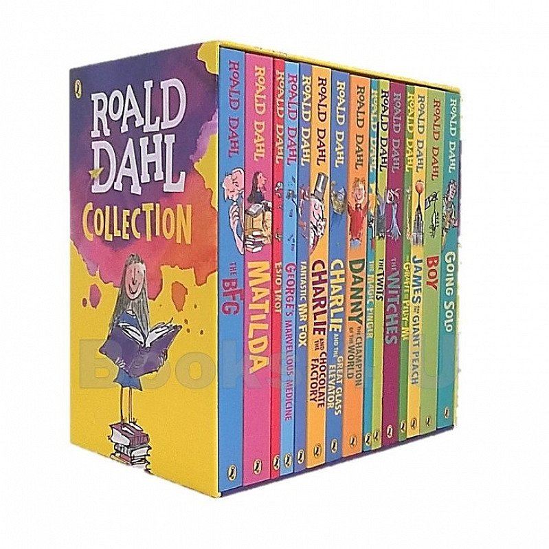 SAVE OVER £55 on this 15 Book Roald Dahl Collection!