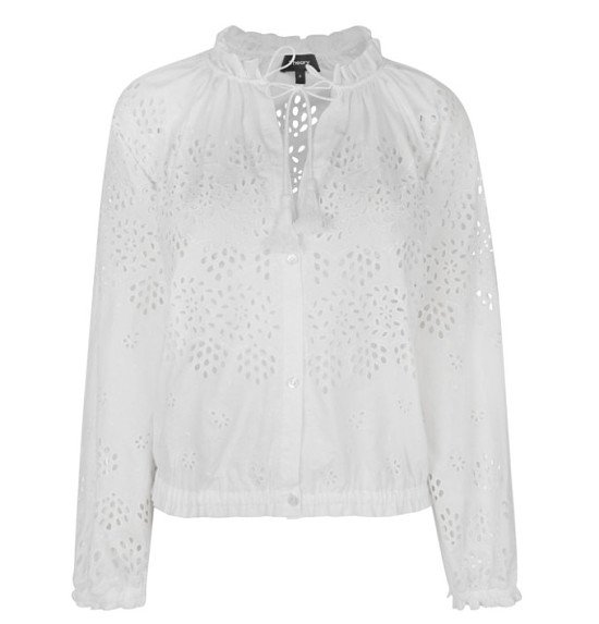 OVER £260 OFF - THEORY Maryana Vintage Eyelet Jacket!