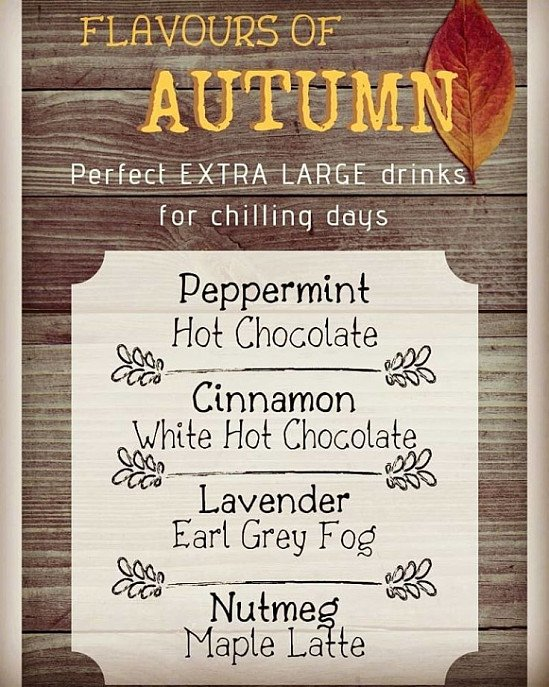Our Autumn Menu is Here!