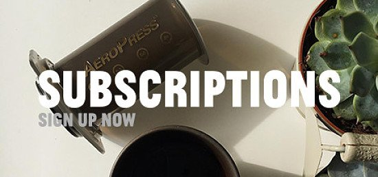 Sign up for fresh coffee delivered to you!