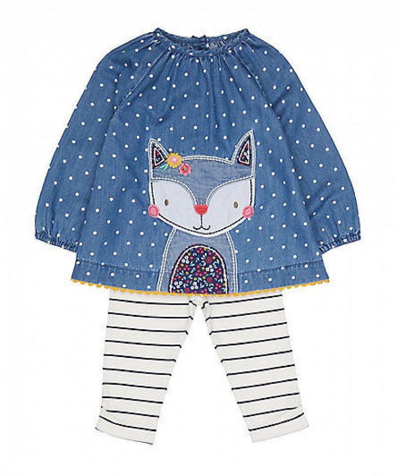 20% OFF Full Priced Clothing - Inc. denim fox blouse and leggings set!