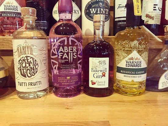 We have 4 new Gins added to our collection... be sure to come try them all!