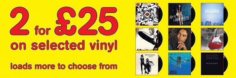 Vinyl - 2 for £25: Back to Black Amy Winehouse