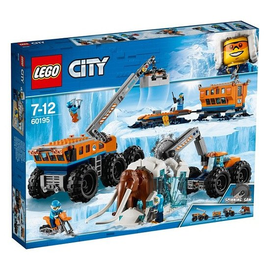SAVE BIG - LEGO 60195 City Arctic Expedition Arctic Mobile Exploration Base!