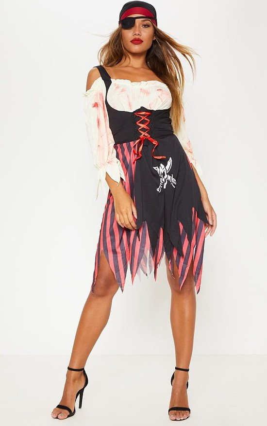GET HALLOWEEN READY - PIRATE LADY HALLOWEEN FANCY DRESS OUTFIT £25.00!