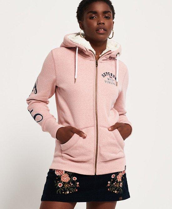 Aria Applique Zip Hoodie: £59.99!