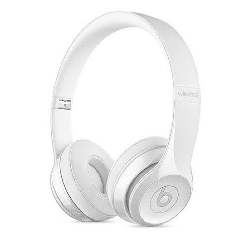 ELECTRONICS SALE - Beats Solo 3 Wireless Gloss White Headphones!