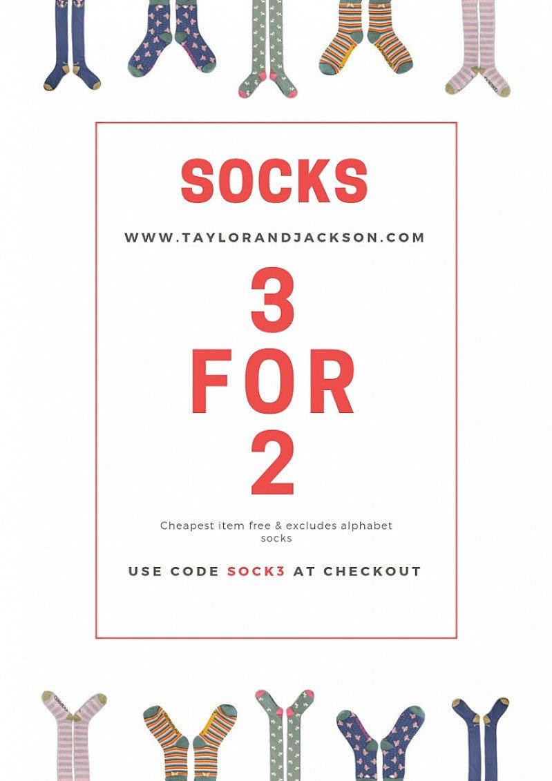 3 FOR 2 ON SOCKS