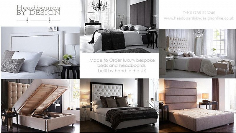 Exclusive, Handmade Headboards, Beds, Ottomans, Benches and Valances - 10% discount