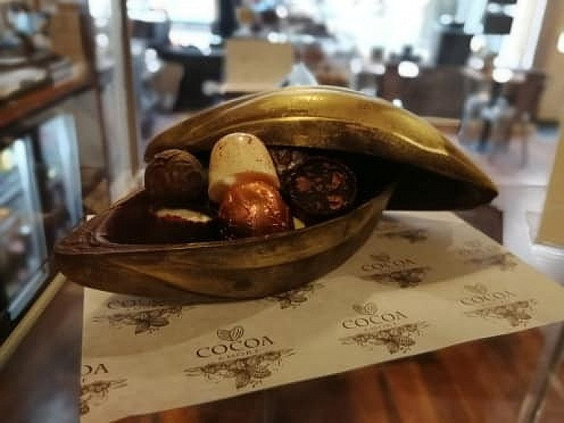 Our handmade filled cocoa pods are a true work of art
