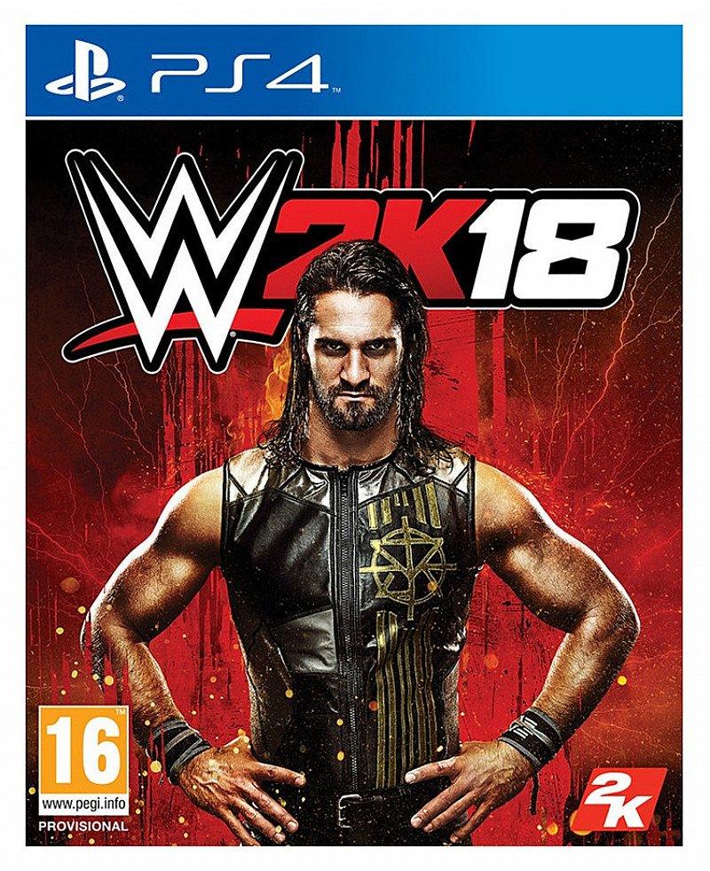 Ganes under £20.00 - WWE 2K18