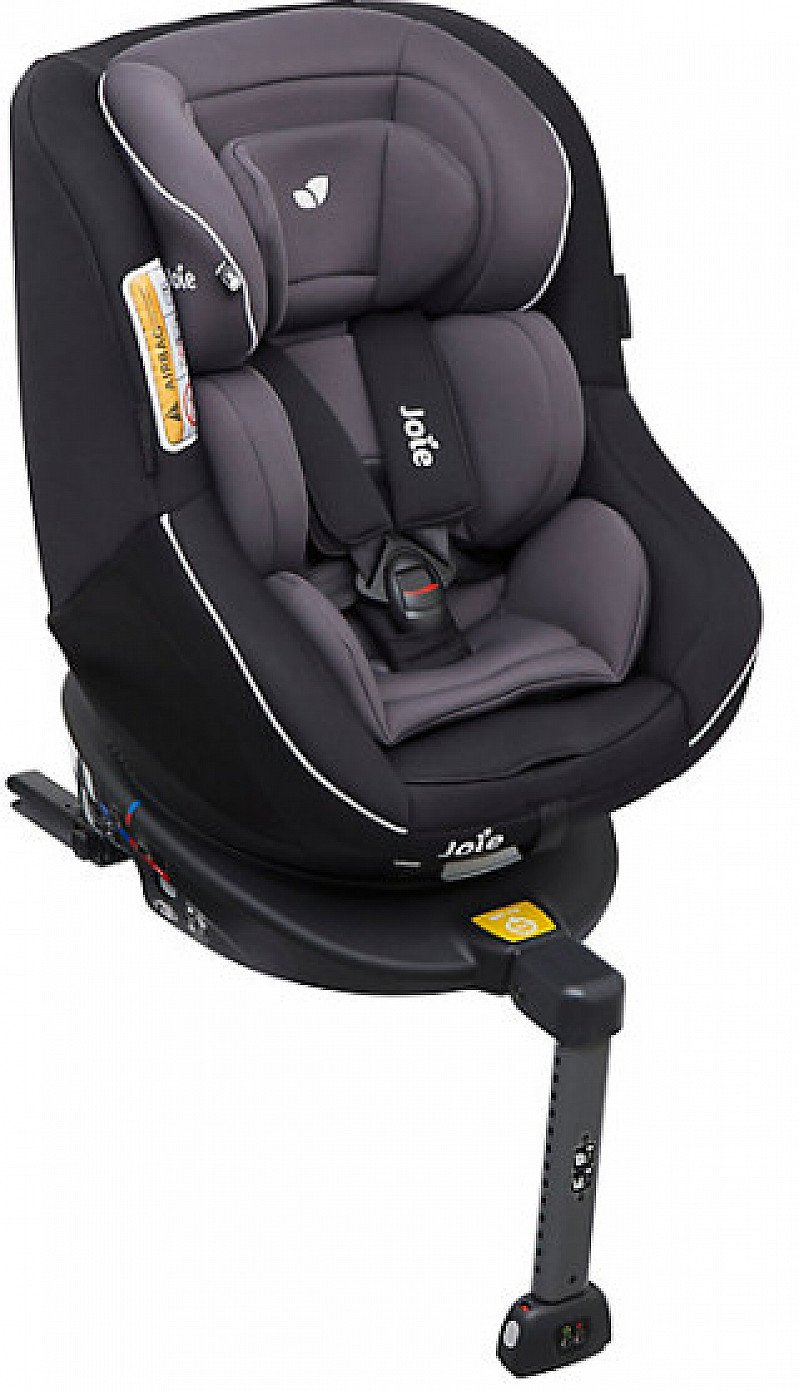 Save £31.00 - Joie spin 360 combination isofix car seat - two tone black