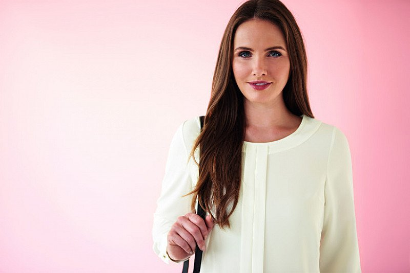 Win a top quality Brook Taverner crepe de chine business blouse