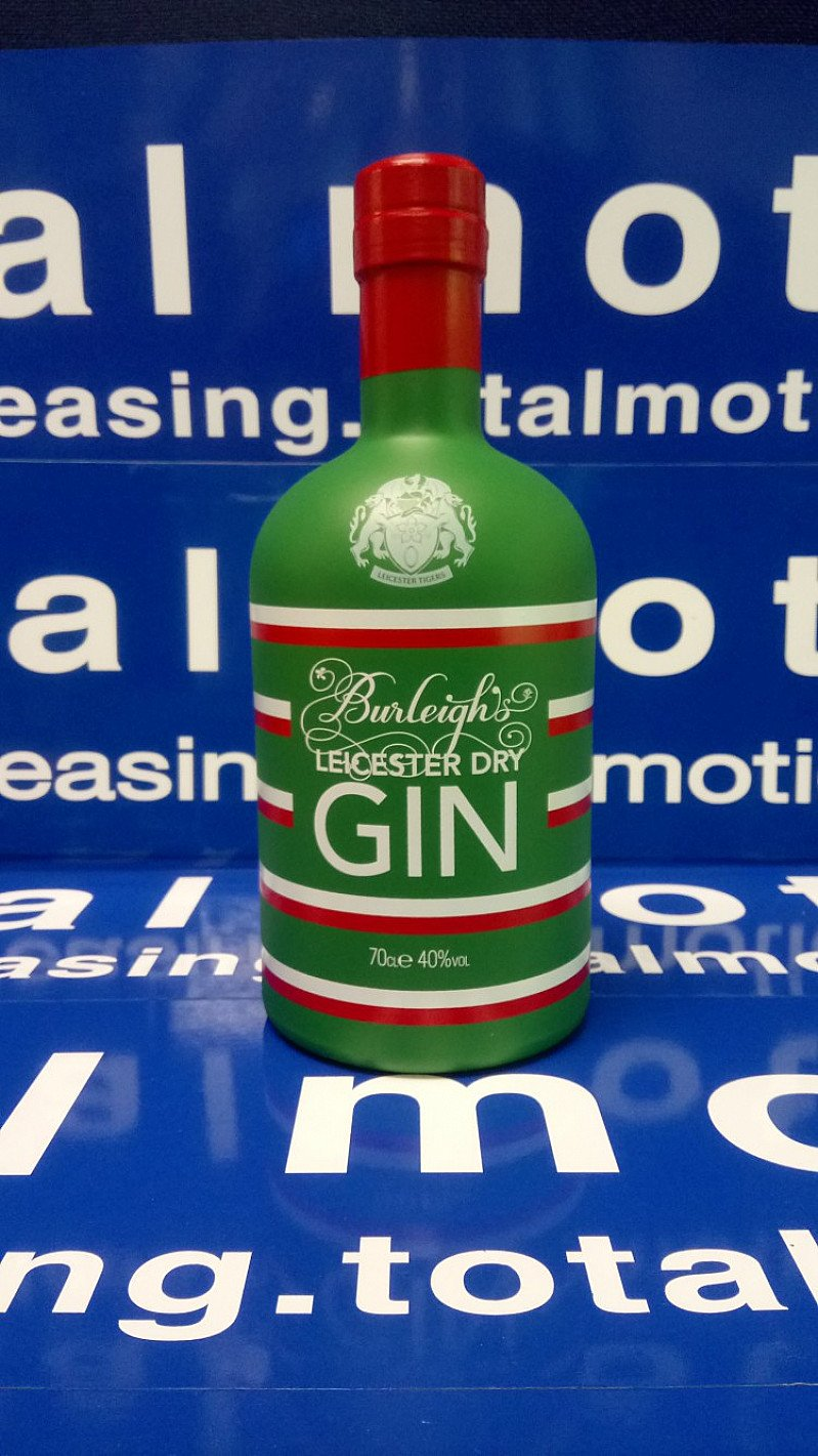 WIN a special bottle of Leicester Tigers Edition gin!