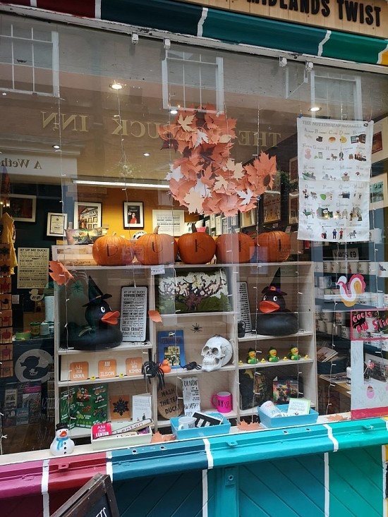 Check out the Halloween Display we've got on!