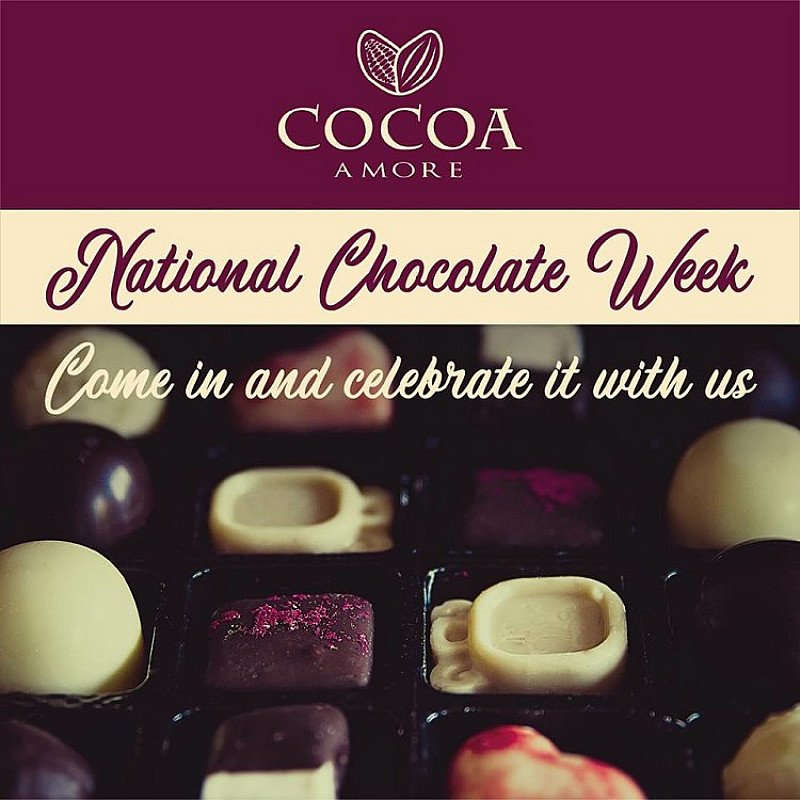 It's National Chocolate Week! Come in and celebrate it with us