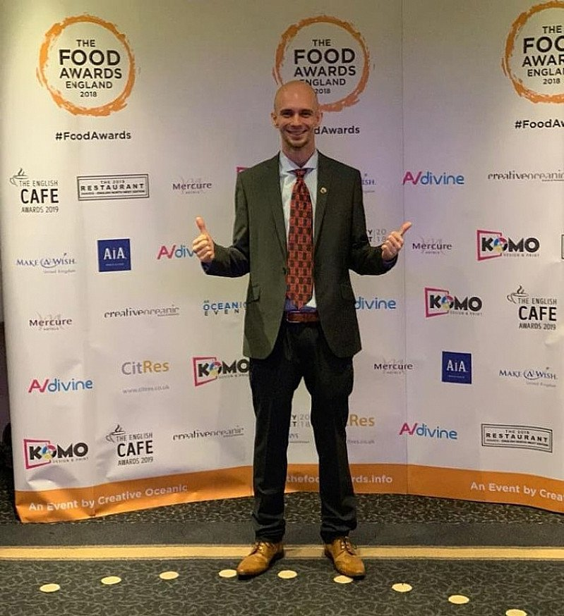 Representing @planburritouk at the National Food Awards in Manchester!