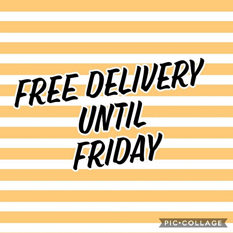 WHAT!!!!! FREE DELIVERY ON ALL ORDERS OVER £45