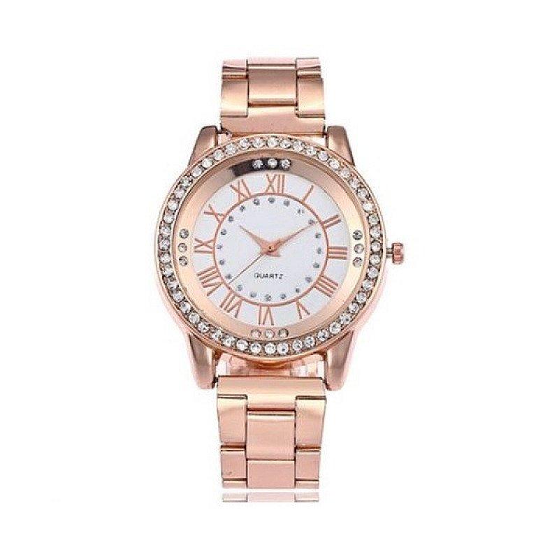 Win a bracelet clasp rhinestone watch