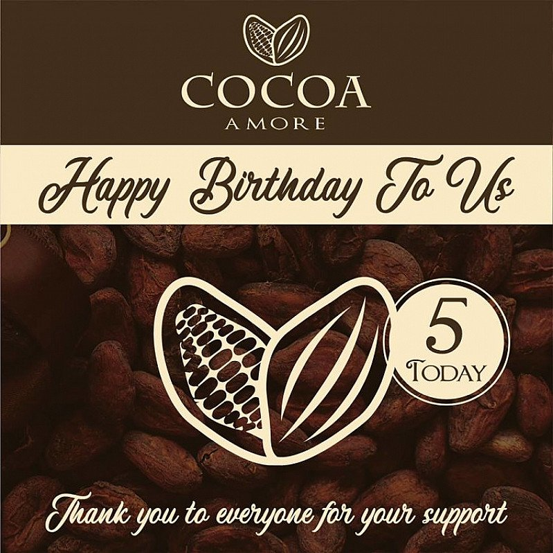 Happy Birthday To Us... We're 5 years old today