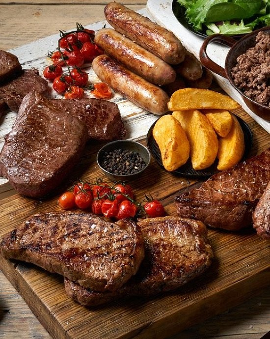 50% OFF Fresh Luxury Steak Meat Box