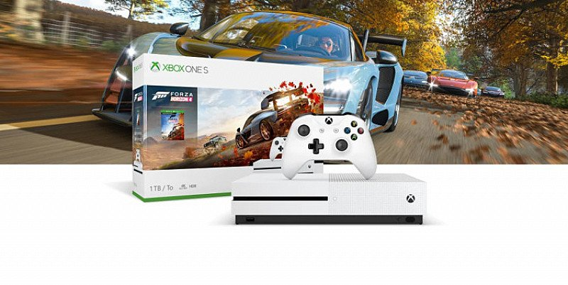 SAVE- 1TB XBOX ONE S WITH FORZA HORIZON 4 + PREY + 3 MONTHS XBOX LIVE GOLD + NOW TV