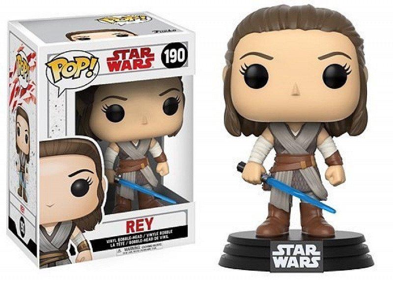 Save on this Pop Vinyl Star Wars Episode 8 The Last Jedi: Rey