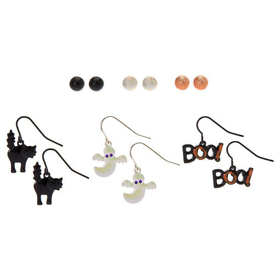 Save on these Halloween Earrings Set - 6 Pack
