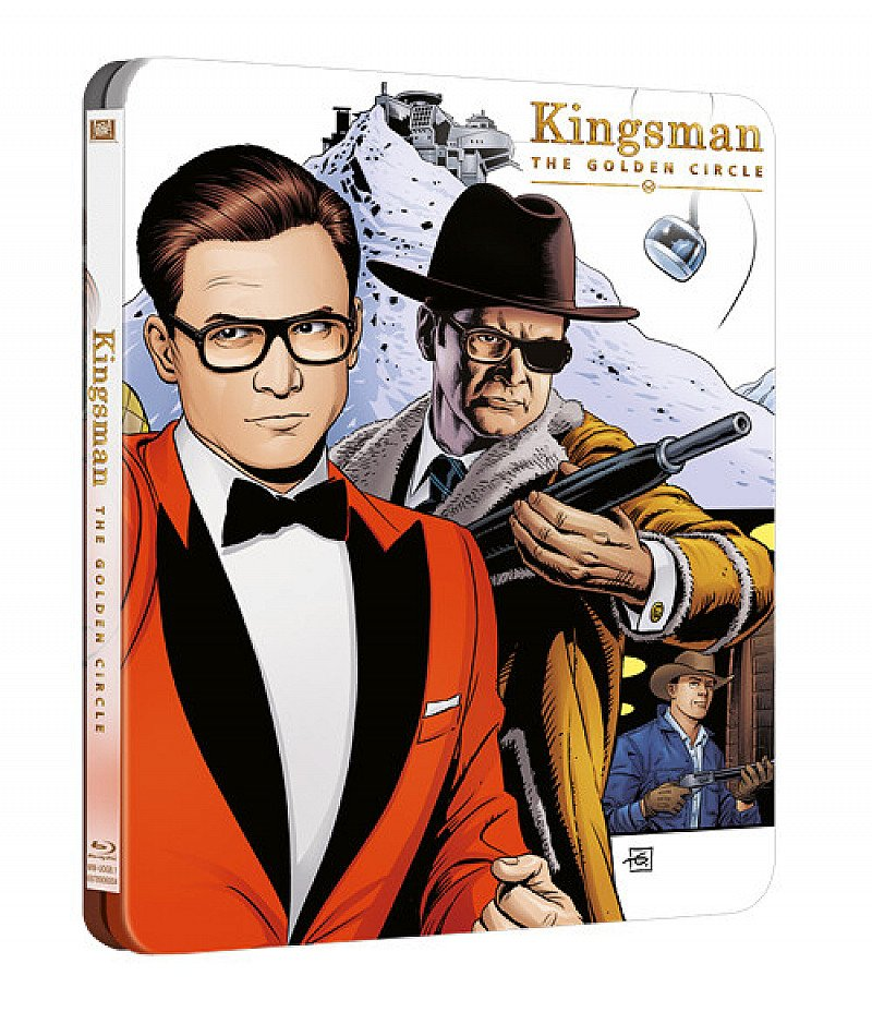 Save on Kingsman: The Golden Circle (hmv Exclusive) 4K Ultra HD Steelbook