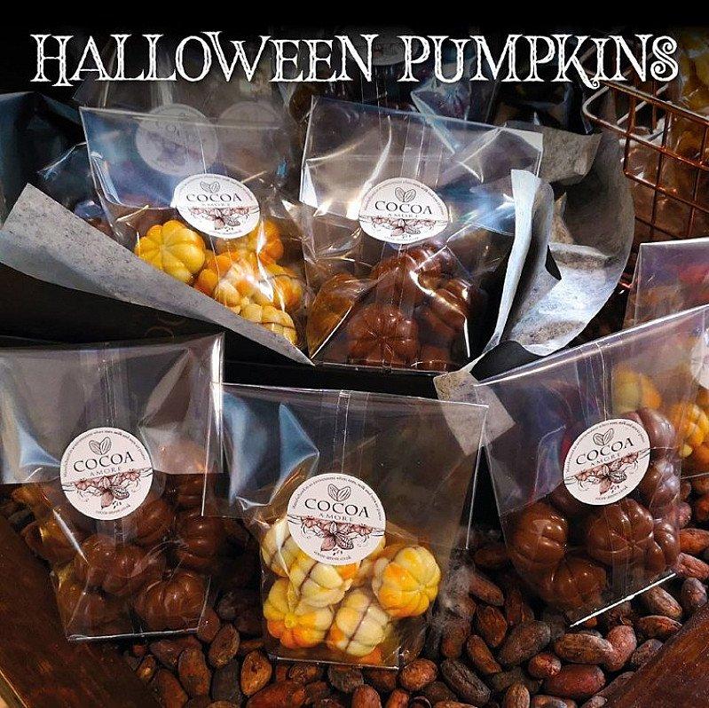 Praline Halloween Pumpkins